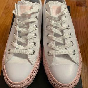 Converse X MC All Star Platform Sneakers white